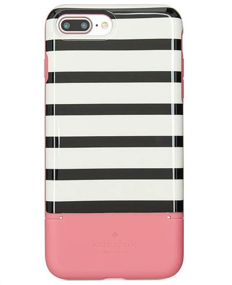 kate spade  york striped credit card iphone   case