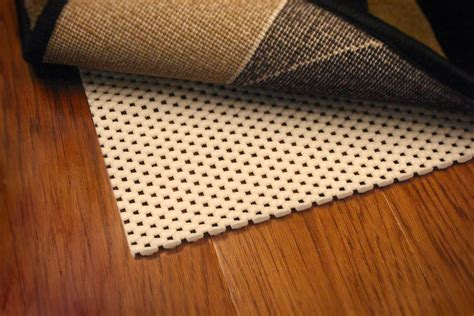 sticky rug pad non stick rug pad an economical way to avert slipping and wearing out of your rug