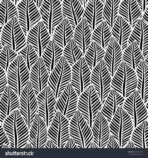black and white leaf pattern black and white leaf pattern vector