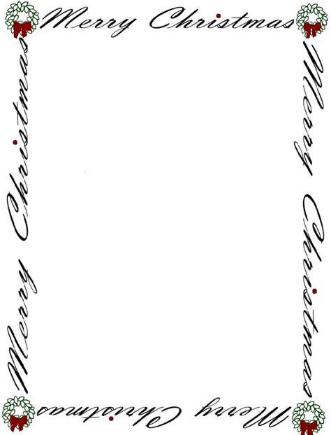 printable postcards with border printable christmas borders for paper christmas