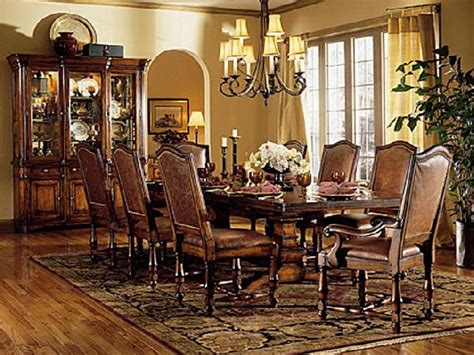 Large Dining Set Large Dining Room Table Sets