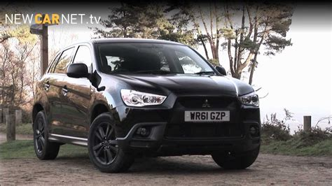 black mitsubishi asx mitsubishi asx black car review