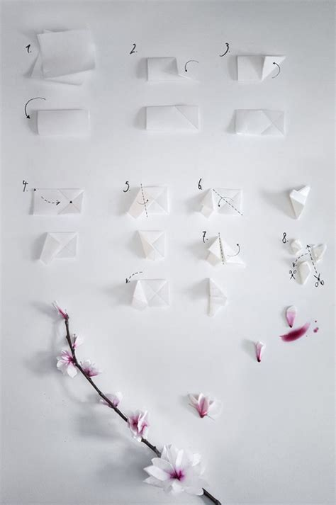 Cherry Blossom Origami Paper - 1000 images about origami centerpiece on