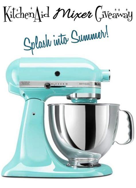 KitchenAid Mixer GIVEAWAY!   Cupcake Diaries