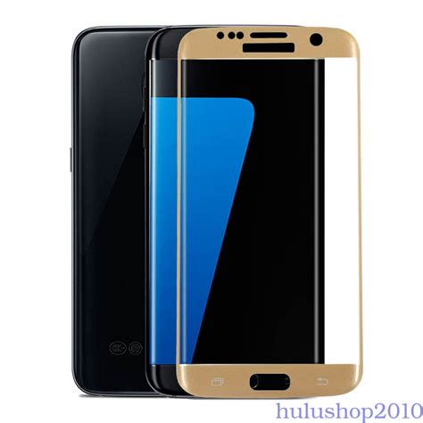 Samsung S7 Edge Layar Lcd Temperglass Temper Glass Antigores 9h for samsung galaxy s7 edge 3d curved glass tempered screen protector hu ebay