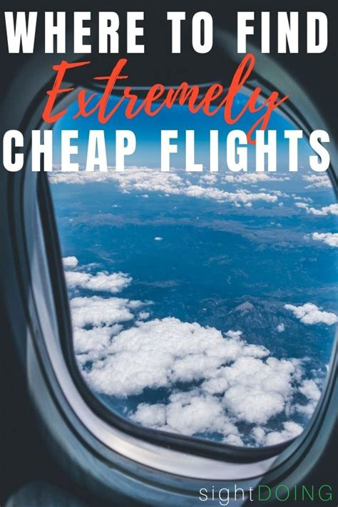 learn where to find cheap flights and save hundreds on airfare list cheap flights