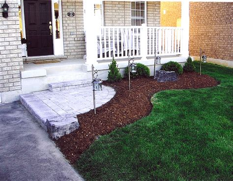 landscape plans front of house front walkway landscaping pinterest