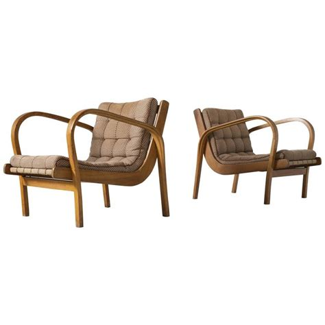 bentwood armchairs pair of beech bentwood armchairs for sale at 1stdibs