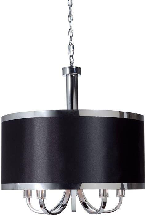 Black Drum Light Pendant Artcraft Sc435bk Modern Black Drum Lighting Pendant Sc435bk