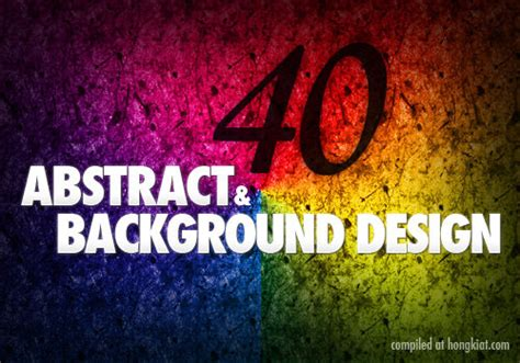 backdrop design tutorial 40 cool abstract and background photoshop tutorials hongkiat