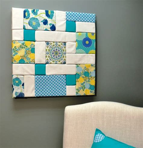 Patchwork Craft Ideas - colorful patchwork wall fairfield world craft projects