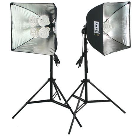 Photography Studio Lights by Kuhl Lite 120 30 Combo Professional Lighting Set