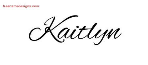 design online name cursive name tattoo designs kaitlyn download free free