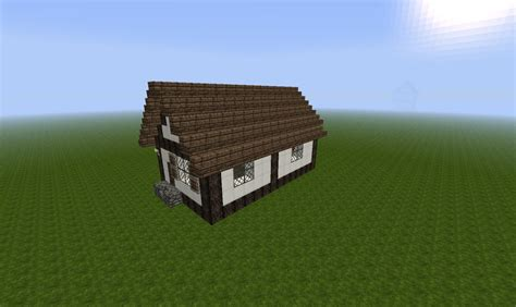 small house minecraft tiny medieval house minecraft project