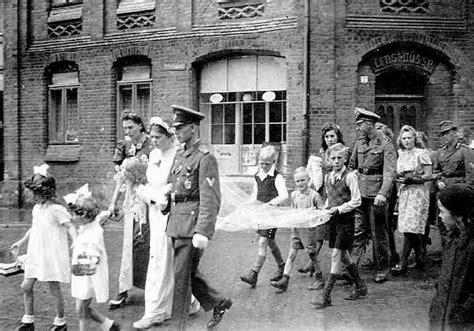 germany world war ii home front 1944 weddings