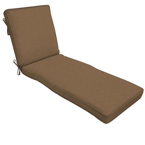 teak chaise lounge cushions home decorators collection sunbrella cast teak outdoor