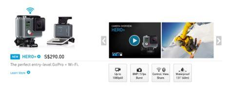 Gopro 4 Singapore gopro unveils entry level slashes price of hero4 session by s 140 hardwarezone sg