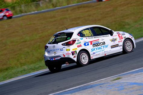 mazda hours the mazda2 hatch endures 8 hours of racing two years in a
