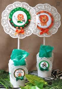 kit mesa dulce safari mi petit partymi petit party