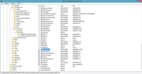 porta per desktop remoto come cambiare porta 3389 rdp connessione desktop remoto