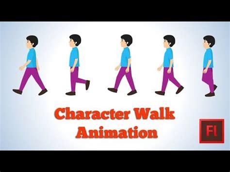 flash tutorial walking man flash animation tutorial character walk cycle part 1