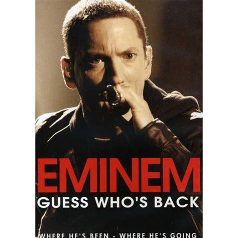 hotmail film eminem eminem guess who s back walmart com