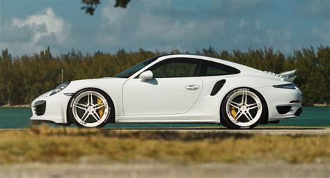 white porsche 911 turbo white porsche 911 turbo s kicks back on adv 1 wheels