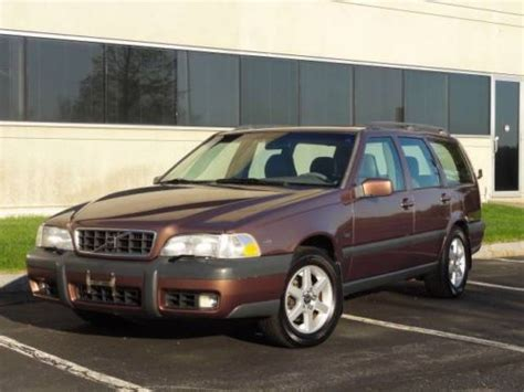 1998 volvo cross country find used 1998 volvo v70xc cross country awd wagon l