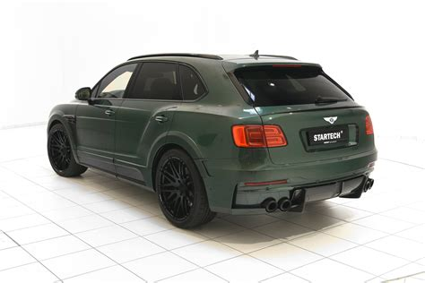 bentley startech bentley bentayga tuning by startech is verdant green