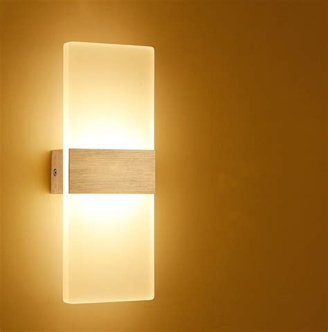 wall mounted lights living room 6w 12w modern led wall ls acrylic bed room wall light living sitting room foyer bathroom led
