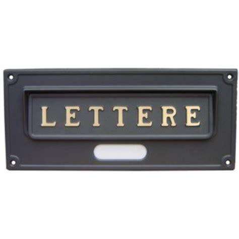 buca per lettere buca per lettere ottone verniciato ghisa mis 30 3x13 2