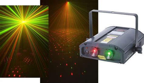 Laser Light Machine by American Dj Galaxian 3d Laser Lazer Light Generator