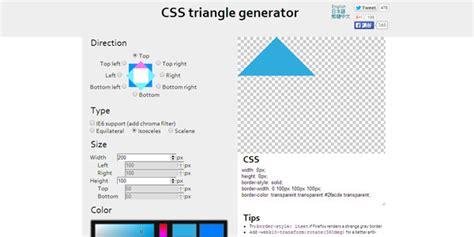 css triangle pattern generator r 233 aliser des triangles en html css3 facilement pour vos