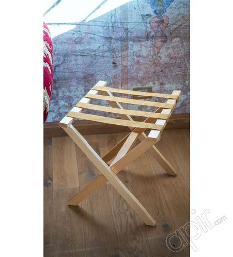 porte valises en bois porte valises chambre et bains