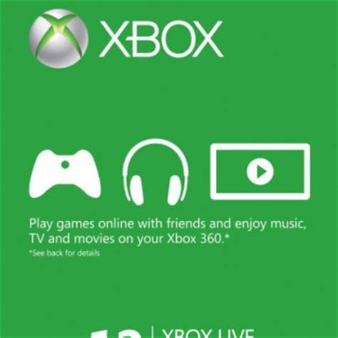 Xbox Live 12 Month Gold Membership Gift Card - 163 50 microsoft gift card xbox one xbox 360 instant delivery only 163 42 65 using