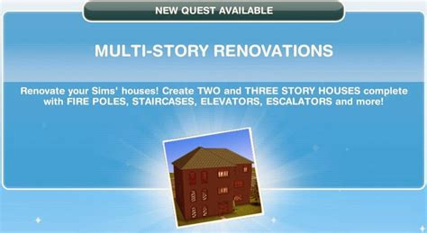 multi story renovations  sims freeplay wiki fandom