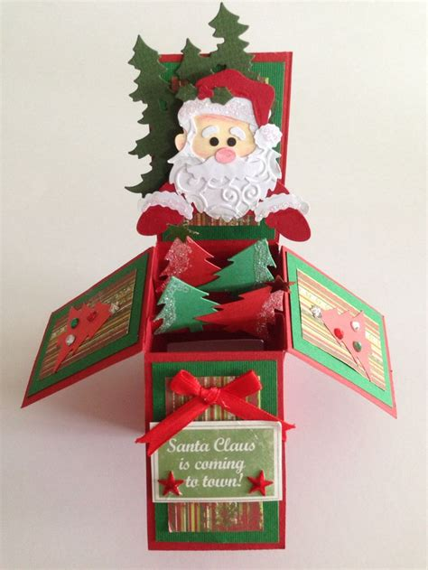 Gift Card Boxes Uk - 25 best ideas about pop up christmas cards on pinterest childrens homemade