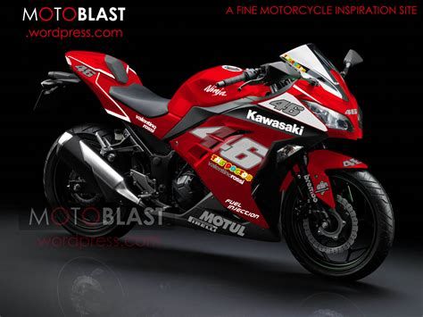 Decal Striping Kawasaki 250 Fi 1 modif striping new kawasaki 250r fi merah motoblast