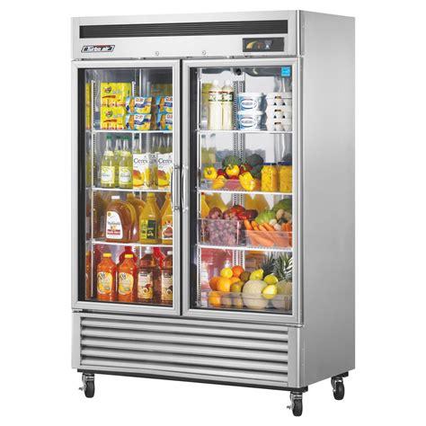 Turbo Air Tsr 49gsd N Reach In Refrigerator Two Glass Turbo Air Glass Door Refrigerator