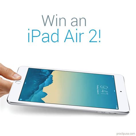 Ipad Sweepstakes - ipad air 2 giveaway