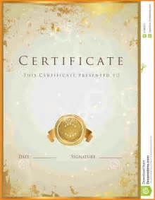 7  gold certificate background   sample of invoice