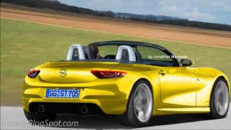 Opel Gt Convertible Preview New 2017 Opel Gt Cabriolet