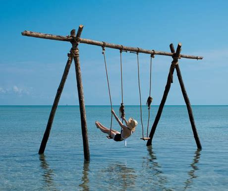 sea swing suite of the week the lodge at benguerra island beyond