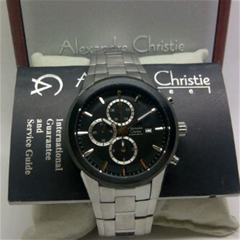 Harga Jam Tangan Merek Zeca jam tangan alexandre christie 6248 sb