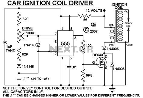 ignition coil driver power integrated circuit schematic problem page 1
