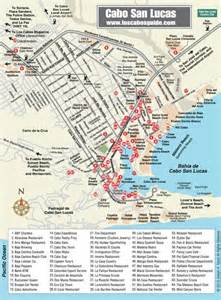 cabo san lucas map los cabos guide favorite places