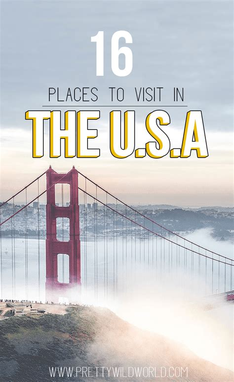 best states to visit in usa best places to visit in the usa shared by travel