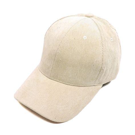 hat400 beige corduroy baseball cap hats caps fashion