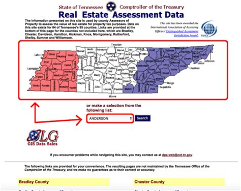 Property Records Tn Tennessee Property Data Map Wisconsin Map