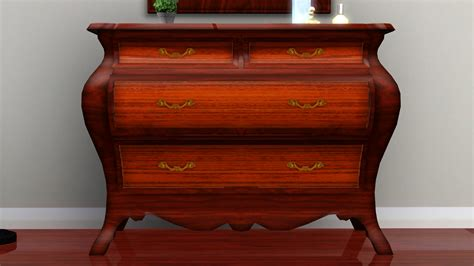 Bombay Dresser by Fresh Prince Creations Sims 3 Pulaski Bombay Chest